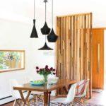 Интерьерные рейки из дерева